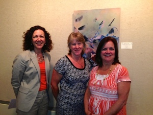 Three Berkshire United Way Birth-Third Leaders (from left): Nancy Stoll (Director of Community Engagement and Evaluation), Karen Vogel (Early Childhood Coordinator), and Kris Hazzard (President and CEO).
